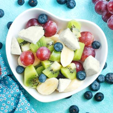 Ricette - Insalata di frutta e Mozzarella di latte di Bufala Mandara