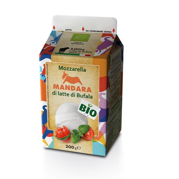 Mandara Mozzarella di latte di Bufala BIO