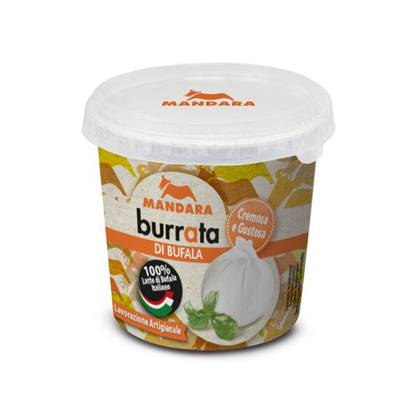 Mandara Burrata di Bufala formaggio fresco