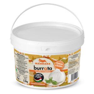 Mandara Burrata di latte di Bufala