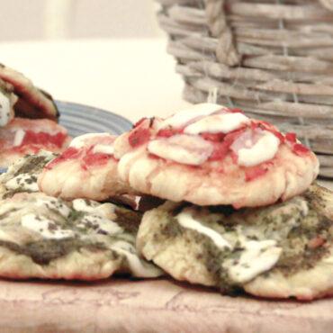 Ricette | Pizzette con semola e Mozzarella di Bufala